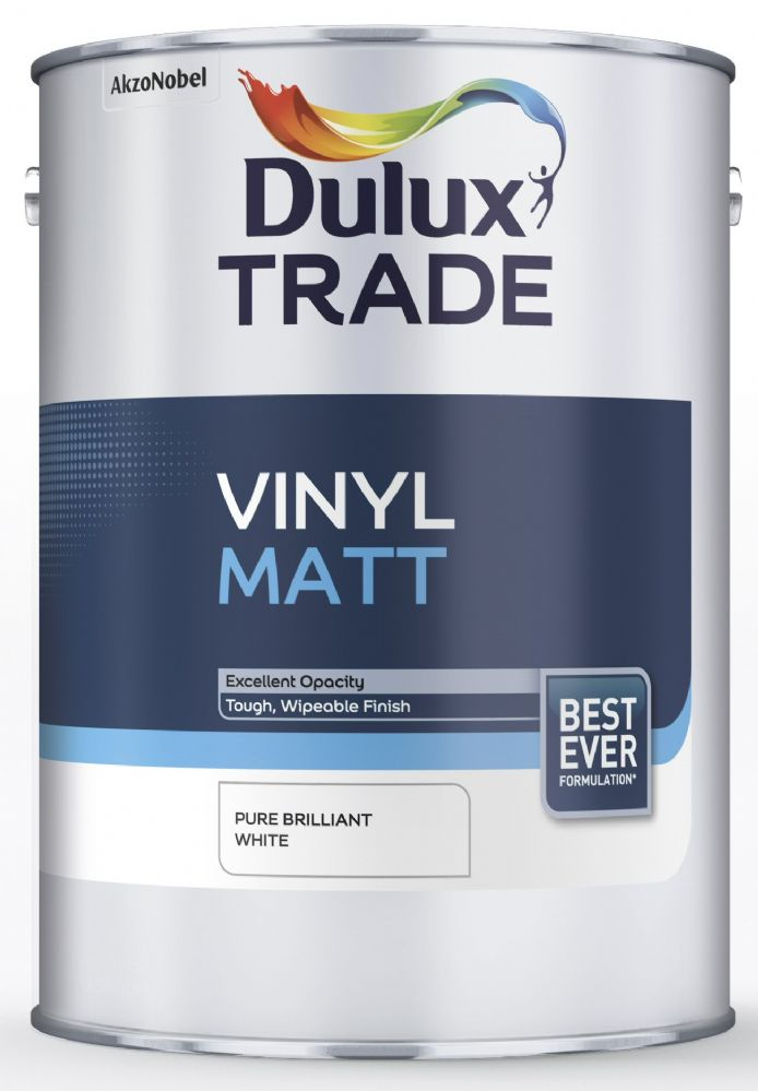 Dulux Trade Vinyl Matt Standard Colours